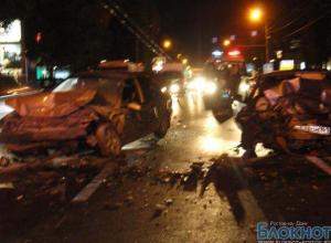 В лобовом столкновение в Ростове пострадали 5 человек, в том числе ребенок