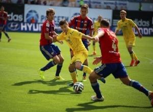 Футбольный клуб «Ростов» с разгромным счетом проиграл ЦСКА