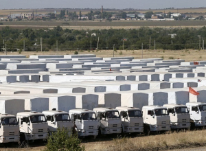 Красный Крест не будет участвовать в подготовке третьей автоколонны с гуманитарной помощью для Донбасса