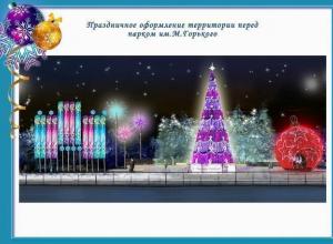 Ростов-на-Дону украсят 530-ю новогодними композициями