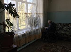 Плесенью и обваливающейся штукатуркой встретило своих пациентов сестринское отделение амбулатории в Ростовской области