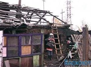 На пожаре в Ростовской области погиб пенсионер