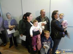 В пунктах временного размещения Ростовской области растет число украинских беженцев