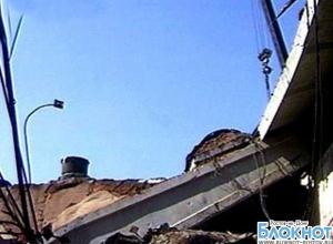 В Ростовской области в спортзале школы обрушилась крыша