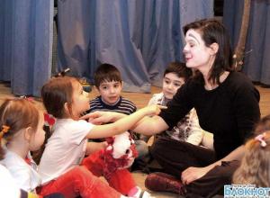 Французская актриса Ева Иваковик представила в Ростове спектакль для малышей