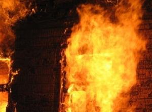 Страшный пожаре во флигеле унес жизнь мужчины в Ростовской области