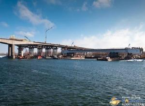 В Ростове установку центрального пролета нового Ворошиловского моста начнут утром 8 декабря