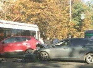 Массовая авария с «неприметным» трамваем спровоцировала огромную пробку в Ростове