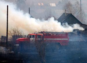 4-месячный малыш погиб на пожаре в поселке Каменоломни
