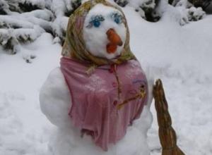 Жителей Ростовской области охватила уморительная «снеговикомания»