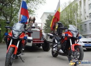 На улицах Ростова появились мотоспасатели