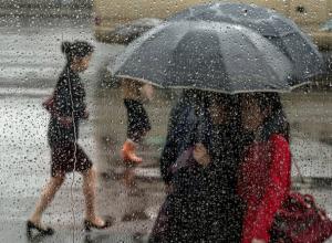 Дождливым и пасмурным выдастся первый день рабочей недели для жителей Ростова