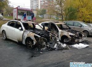 В Ростове выясняют обстоятельства поджога 15 автомобилей. ВИДЕО