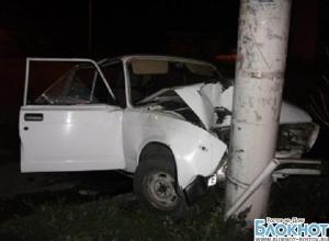 В Шахтах скрывающийся от следствия 21-летний водитель без прав совершил ДТП