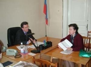 Мэр Ростова Михаил Чернышев провел очередной прием граждан