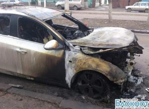 В Новочеркасске сожгли автомобиль депутата (ВИДЕО)