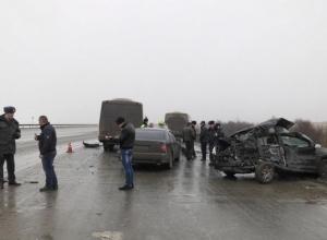 Под Ростовом в ДТП с участием автобуса погиб один человек