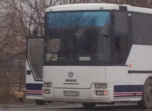 Выезды из Ростова перекрыты из-за сообщения о террористке в пассажирском автобусе. Фото