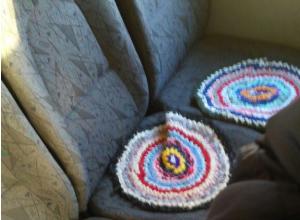 «Ностальгическая» маршрутка с «бабушкиными ковриками» удивила пассажиров в Ростове