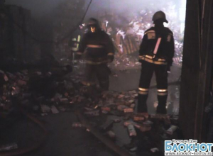 В Ростове ночью сгорел табачный склад на Совхозной