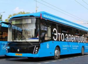 Десять новых электробусов начнут курсировать по маршрутам в Ростове