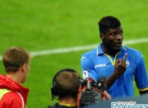Защитник «Ростова» Игор Лоло, показавший средний палец соперникам, дисквалифицирован