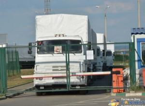 Первые машины, доставившие гуманитарный груз в Луганск, вернулись в Ростовскую область