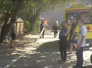 Мусорную свалку назвали причиной страшного пожара в частном секторе Ростова