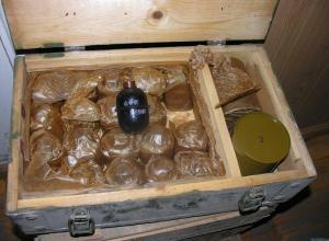 В Ростовской области в школьном сейфе нашли боеприпасы