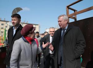 Губернатора Голубева приподняли в рейтинге за любовь ростовчан к Путину