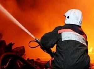 В Ростове в пожаре погиб 2-летний ребенок