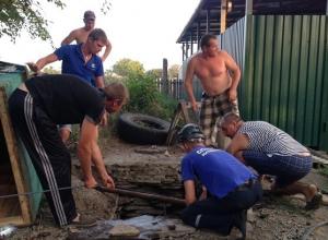 В Ростовской области во время ремонта водопроводного колодца погибли два человека