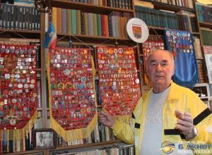 В Ростовской области пенсионер собрал коллекцию из 10 тысяч значков