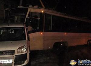 В Ростове трамвай сошел с рельсов и едва не врезался в жилой дом
