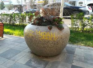 Оторвать руки юным «графистам», пометившим центр города, возжелали жители Ростова