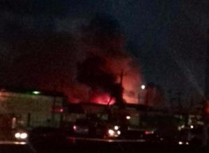 На Темернике разгорелся пожар,  есть жертвы