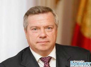 Губернатор Голубев отчитался о своих доходах за 2012 год