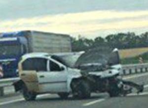 Авария на трассе Ростов - Таганрог вызвала недоумение у пользователей