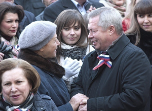 В Ростове митинг в честь Дня народного единства собрал более 6 тысяч человек