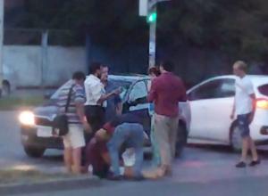 «Бессмертный» пешеход ушел «в закат» после наезда иномарки в Ростове