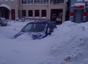 Дончанам запретят выезжать в снегопад на личных автомобилях