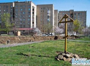 В Ростовской области прихожане построят храм из именных бревен