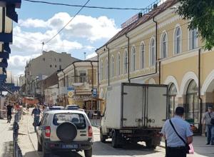 Посетителей Центрального рынка Ростова экстренно эвакуировали из-за угрозы взрыва