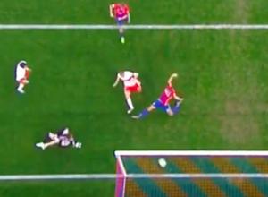 Великолепный «золотой» гол ростовчанина Глушакова, «похоронивший» ЦСКА, попал на видео