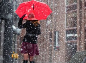 Снег с дождем и резкое потепление ожидает жителей Ростова в это воскресенье