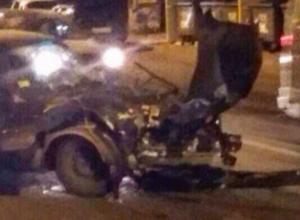 Двое мужчин получили травмы в лобовом ДТП с неуступчивым BMW на дороге Ростова