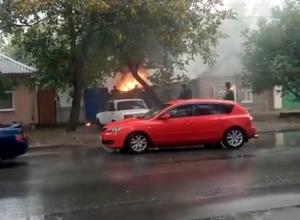 В Ростове-на-Дону снова огонь уничтожает дома людей