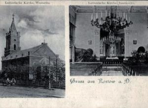 Местный календарь:  71 год назад была разрушена евангелическо-лютеранская община Ростова
