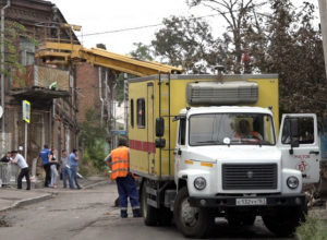 В Ростове восстанавливают подачу электричества и газа в районе пожара