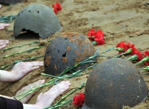 Массовое захоронение погибших солдат распахал тракторист в Ростовской области